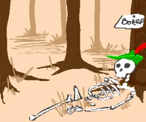 Robin Hood dies of boredom...