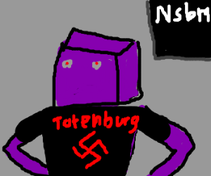 Terrible Secret of Shover Robot: He's a Nazi