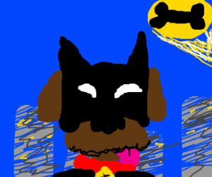 The Bark Knight Rises!! a DOGS movie.
