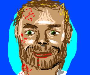 Dexter Morgan has a beard