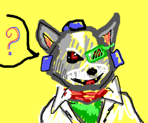 What does the cyborg fox say?