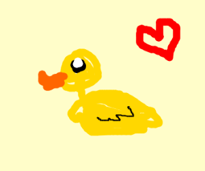 Rubber ducky, I love you