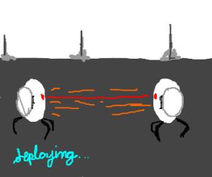 turret fight