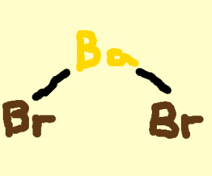 Bromine Barium (BrBa) molecule
