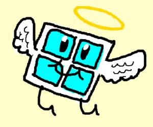 Angelic flying window