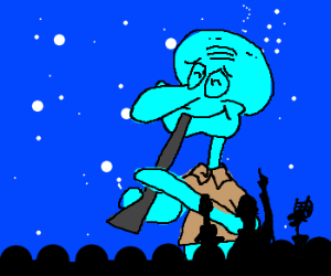 Mystery Science Theater 3000 reviews Squidward