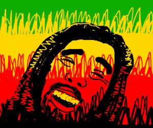 Overjoyed Bob Marley