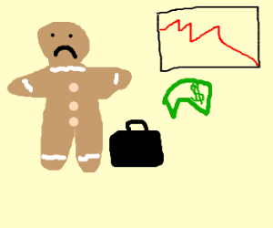 Gingerbread made upset about losses :(
