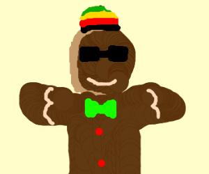 rasta gingerbread man