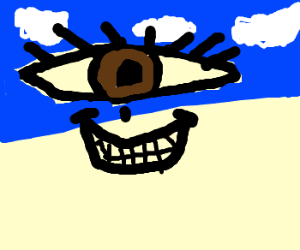 eye in the sky thinks he is the best
