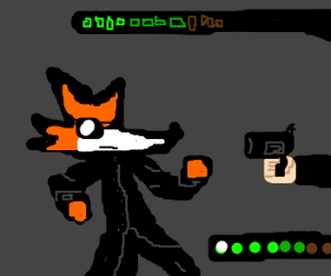 Fox wishes to be Neo at gunpoint