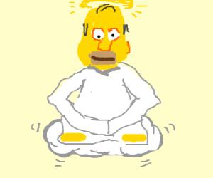 Homer is now God. Praise Homer.