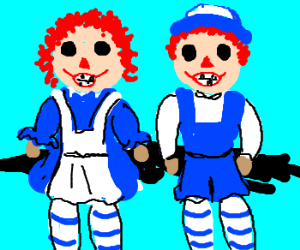 Raggedy Ann & Andy need dental care