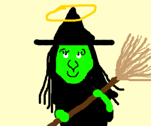 The witch is innocent
