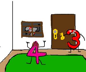 Three, four, better lock your door...
