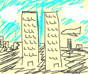 WTC in September 11, 2001
