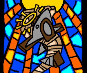JesusSharknado on a cross. Wait...What?