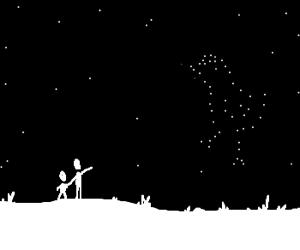 Look!! It´s the chicken constelation!!