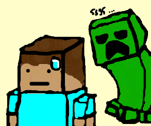 Minecraft horror is about to happen