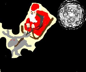 Santa came from Melies moon.