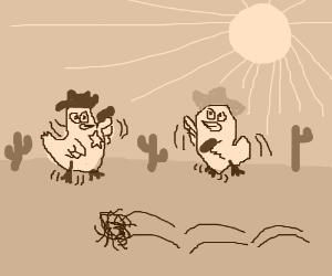 Western chicken dancing