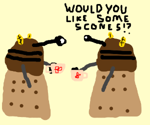 A Dalek Tea Party