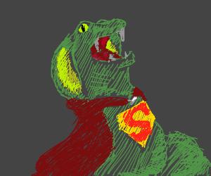 Reptilian super hero:  Super Snake