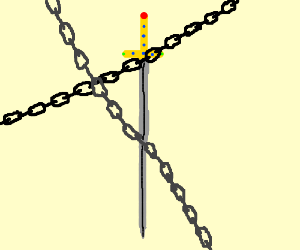 chained sword
