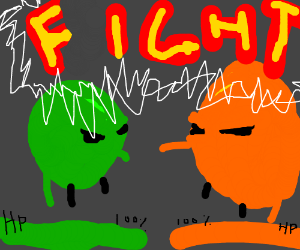 Ultimate Battle: Apples vs. Oranges