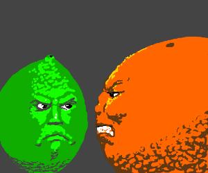Lime Vs. Orange