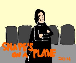 Snape on a plane