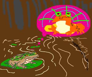 Neon Frog Dream