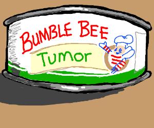 Bumblebee has massive tumor