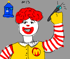 Ronald Mcdonald, the 13th Doctor?