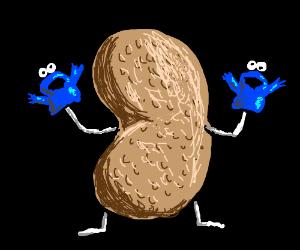 peanut cookiemonsterhands