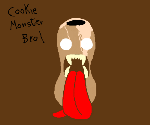 Bean Monster: Cookie Monster's long lost twin.