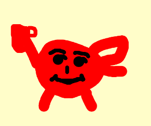 It's Kool-Aid Man!