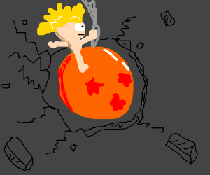 I came in like a Dragonball