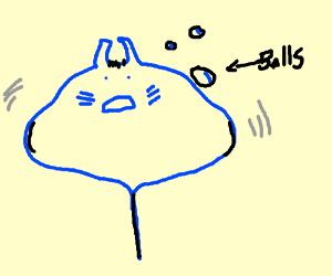 Stingray is tripping balls!