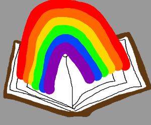 TakeaLook,It'sinaBook,It'sReadingRainbow!