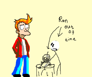 Fry's mad waiter served baby Bender for dinner