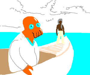 The Life of Pi starring Zoidberg