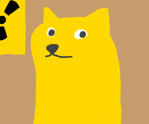 wow such nucular many yellow very hair