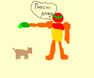 Samus Aran Trains Her New Dog