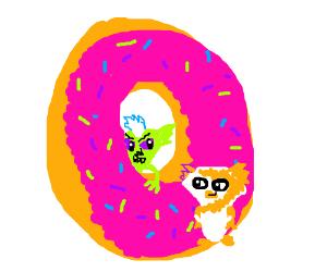 Donut Hole Gremlins