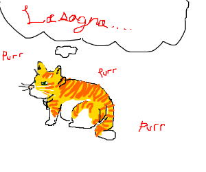 Garfield in real life