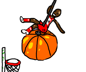 I came in like a Basketball