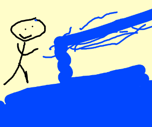 Waterbender is happy to bend a wave
