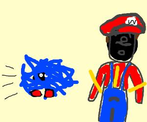 Mario in black-face and Tangela gotta go!