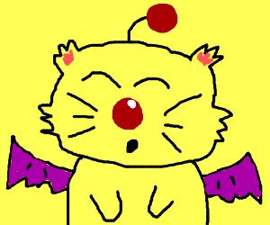 Final Fantasy Cat hero.